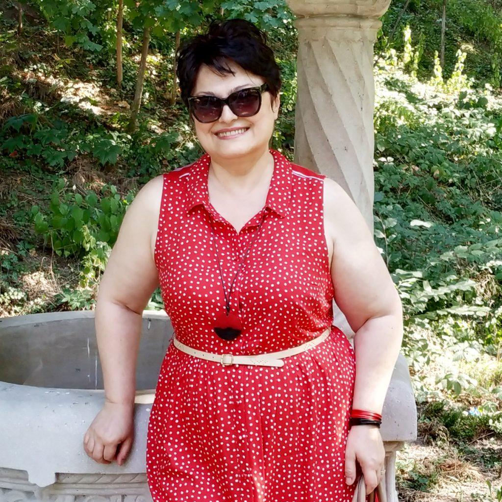 rochie cu buline Roman Originals