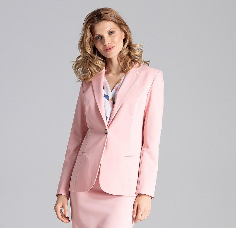 Sacou roz Figl