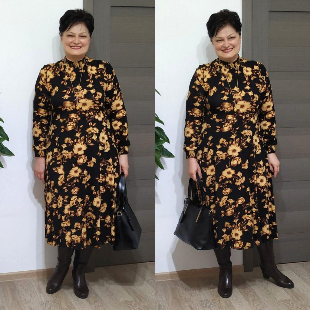 rochie cu flori Dorothy Perkins
