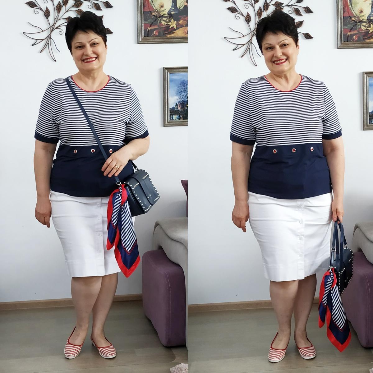 Cinci moduri de a purta o fustă albă de blugi